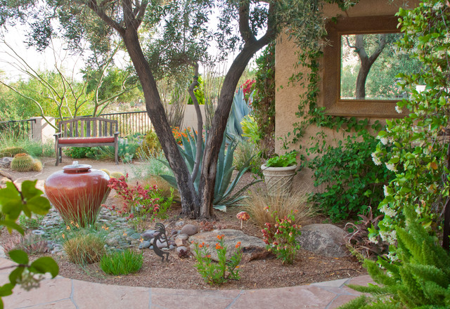 Southwest Style - Southwestern - Landscape - phoenix - by ... on Southwest Backyard Ideas id=97657