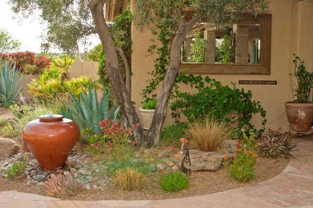 Western Backyard Ideas :  Style  Southwestern  Landscape  phoenix  by Boxhill Design