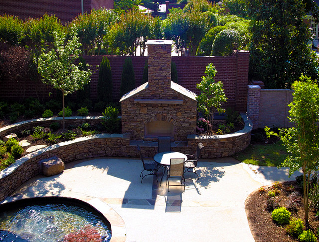 Southwind Residence Natural Pool & Outdoor Living Design traditional-landscape