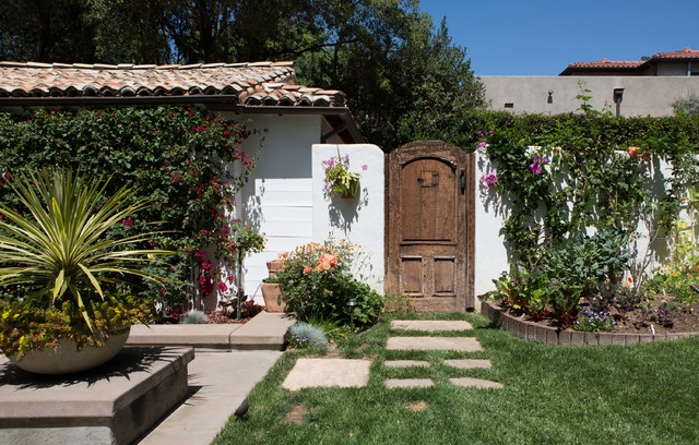 Spanish Bohemian in South Pasadena - Mediterranean - Landscape - los angeles - by Charmean ...