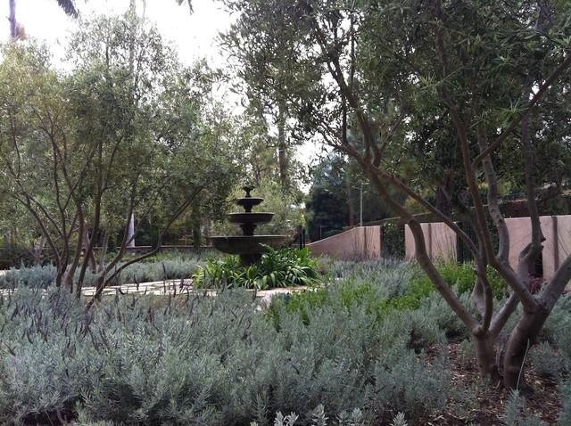 Spanish Remodel Mediterranean Landscape los angeles