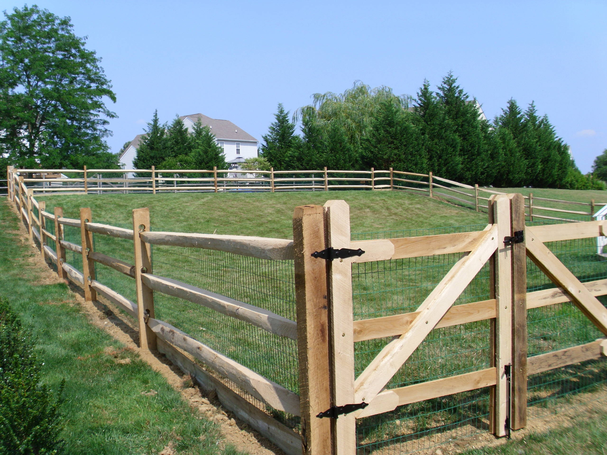 Post And Rail Fence Houzz