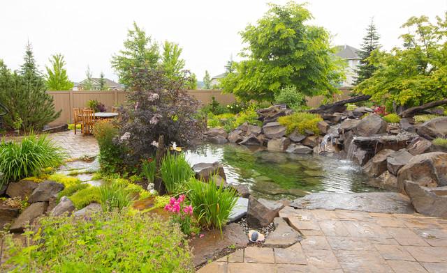 Landscape Boulders Spokane : Spokane valley oasis traditional landscape other