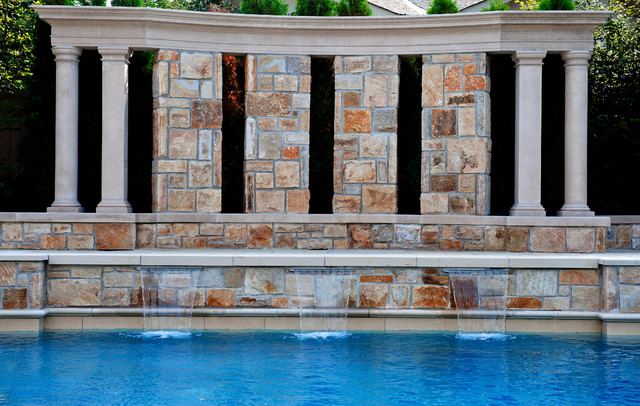 St. Andrew's Park North contemporary-pool