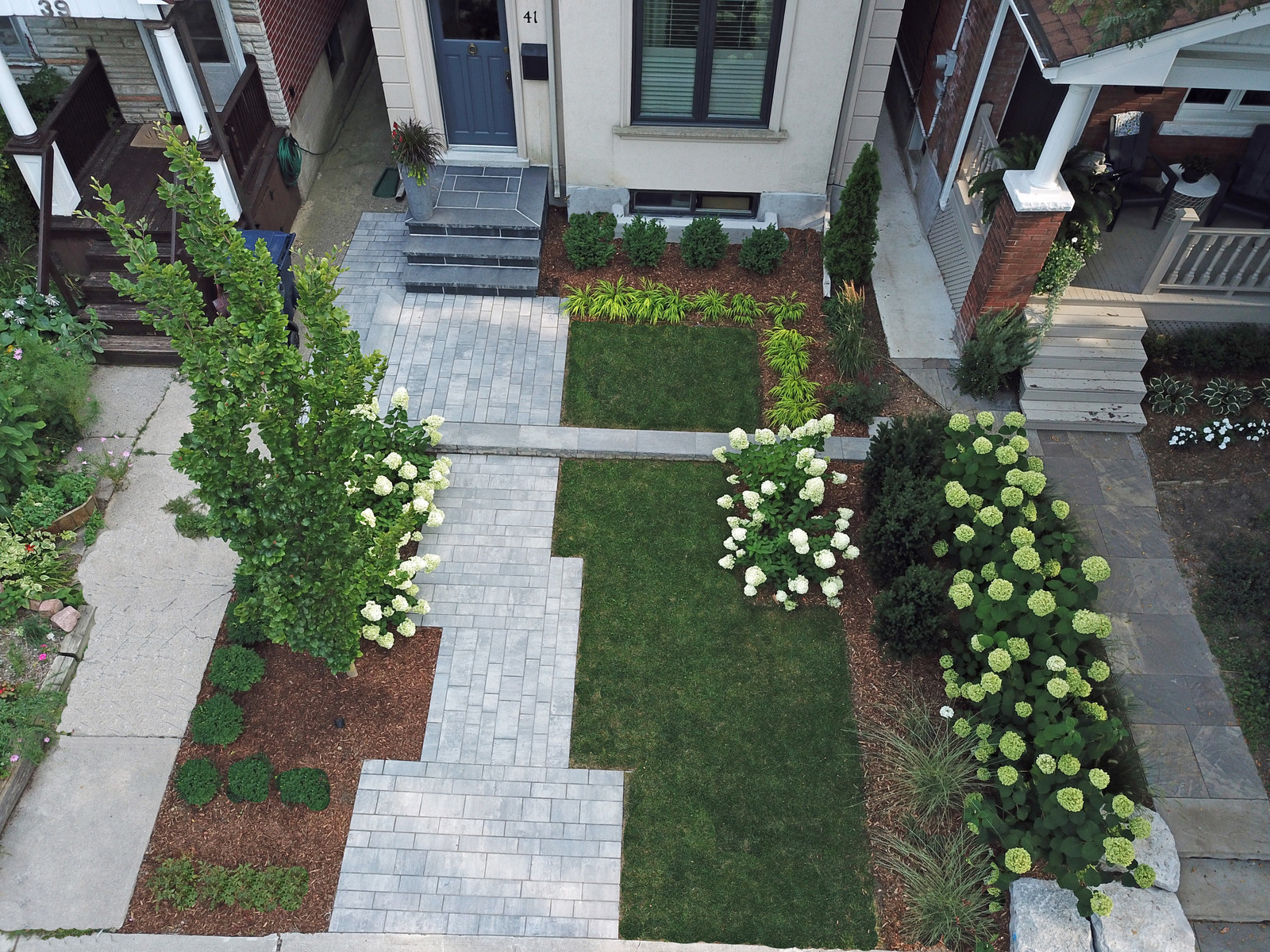 Front Yard Makeover - Green Apple Landscaping