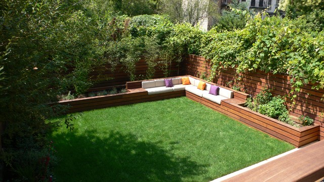 Landscape Garden Four Marks : St marks outdoor seating contemporary landscape new