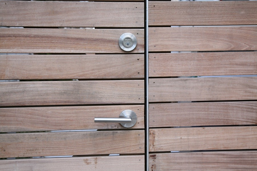 Stainless steel gate hardware