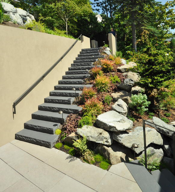 Stairs for Pictures of garden steps designs