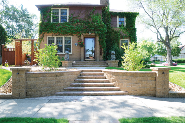 Stairs Traditional Landscape Minneapolis By Versa