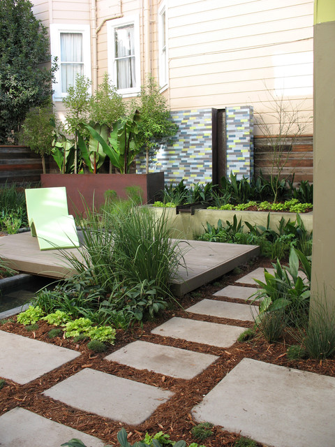 Step stone pathway for Houzz landscape architects