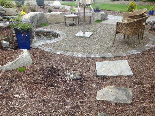 Steps and Patios traditional-landscape