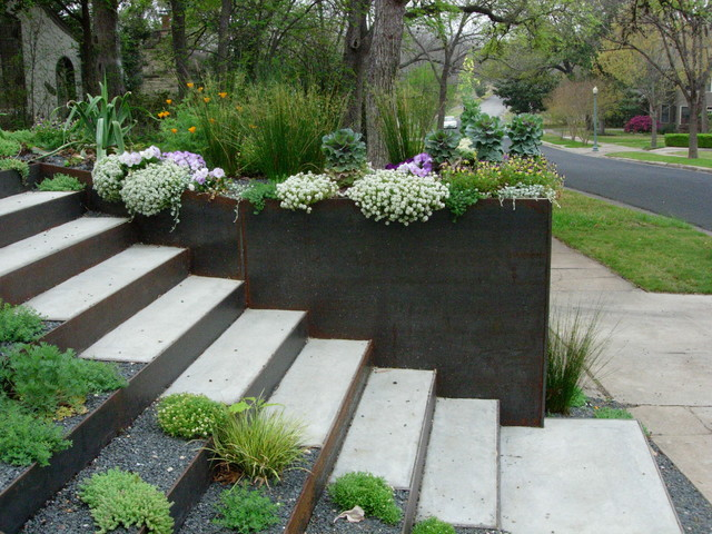 Landscaping Wall Steps : Landscape architects designers