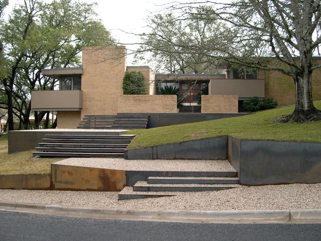 Steps Modern Landscape