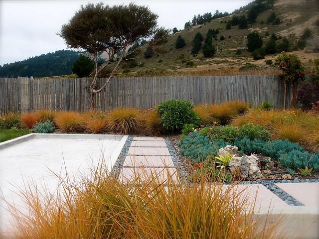 Stinson Beach, Marin County CA contemporary-landscape