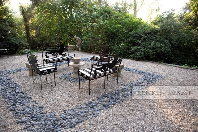 Stone and Rock Garden - traditional - landscape - los angeles - by ...