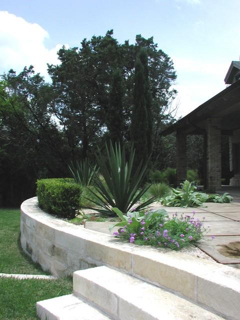 stone contemporary-landscape