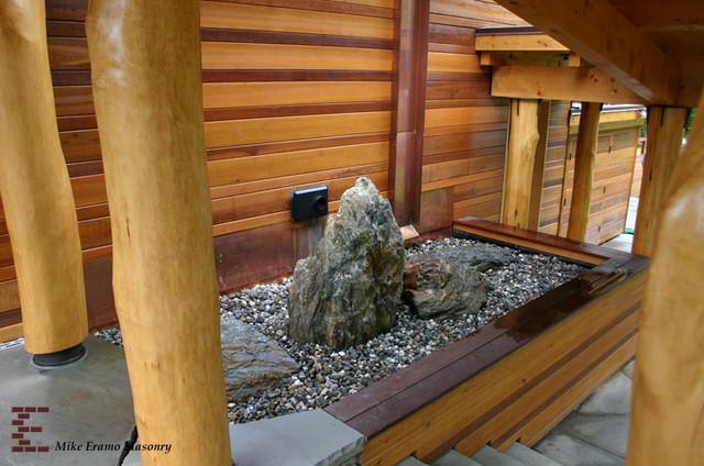 Just wow! asian garden stone