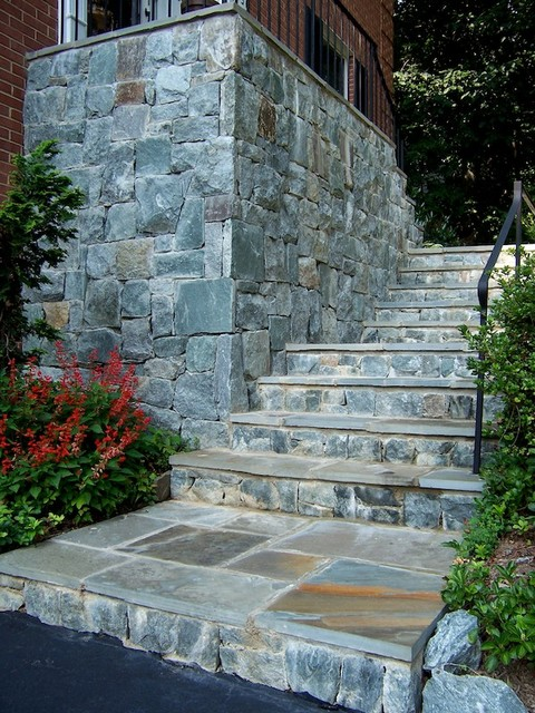 Stone step designs in northern virginia for Landscaping rocks northern virginia