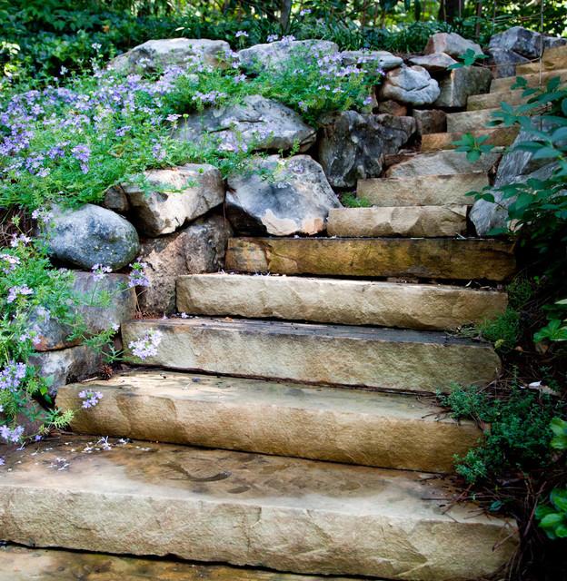 Vision Hardscapes Of Atlanta: Stone Steps And Walkways
