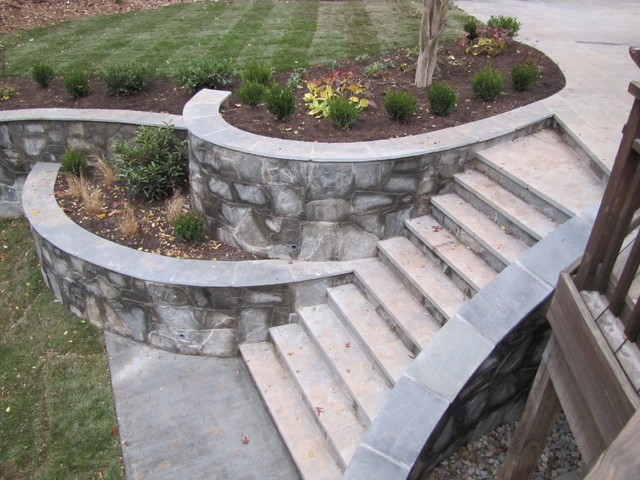 Stone Steps Traditional Landscape Dc Metro By