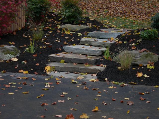Stone Walkway - Wayne, PA traditional-landscape