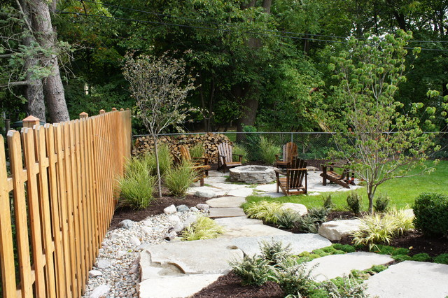 STONE WORK & LANDSCAPE contemporary-landscape