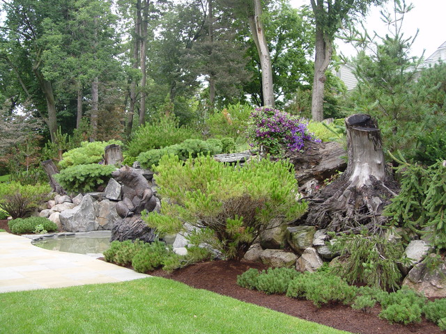 Stumpery Project Traditional Landscape Detroit By