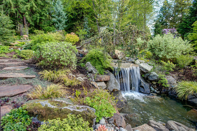 Stunning & Luxurious Mercer Island Home - Contemporary - Landscape - seattle - by Seattle Staged ...