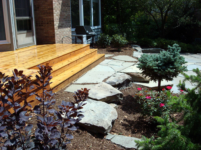 traditional-landscape Avoid Typical Suburban Garden Design on urban garden design, coastal garden design, rain garden design, rural garden design,
