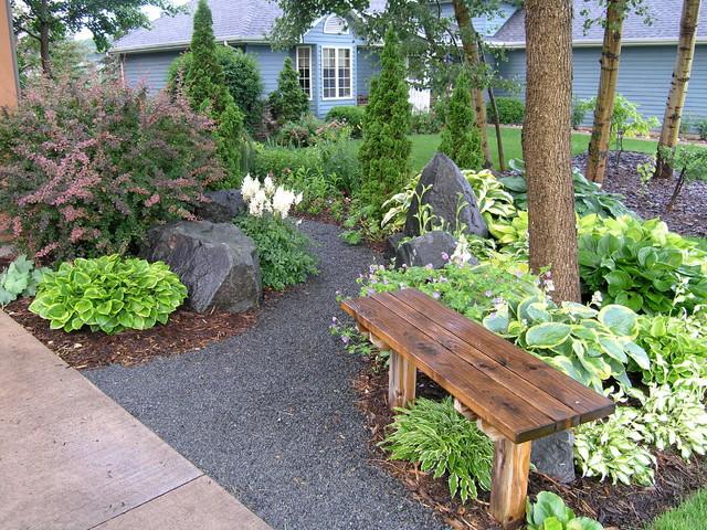 Suburban Backyard Landscaping : Suburban Side and Backyard Wonderland!  Traditional  Garden  Other