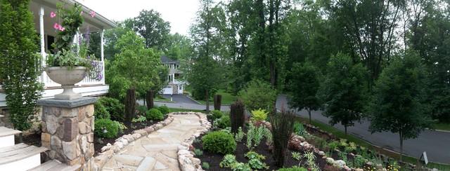 Suburban Backyard Landscaping : Suburban woodland garden  Traditional  Garden  Other  by Little