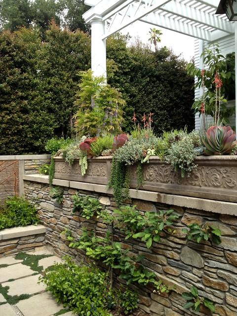 Succulent Planters for California Cottage Gardens