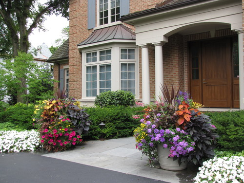 Traditional Landscape by Lake Bluff Landscape Contractors