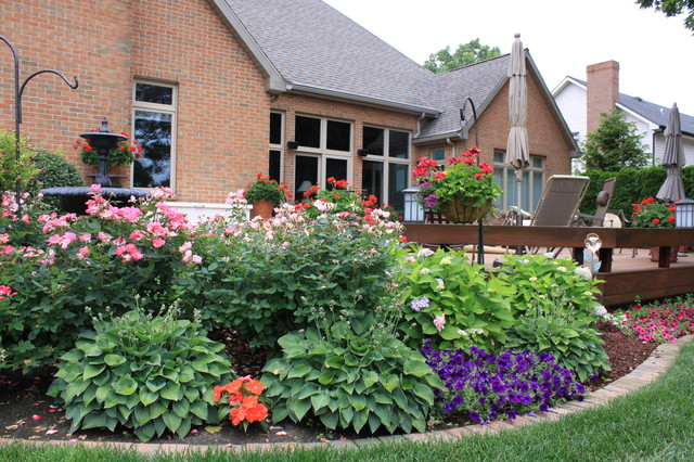 Summer Long Color Traditional Landscape Grand Rapids By Arcadia Gardens LLC