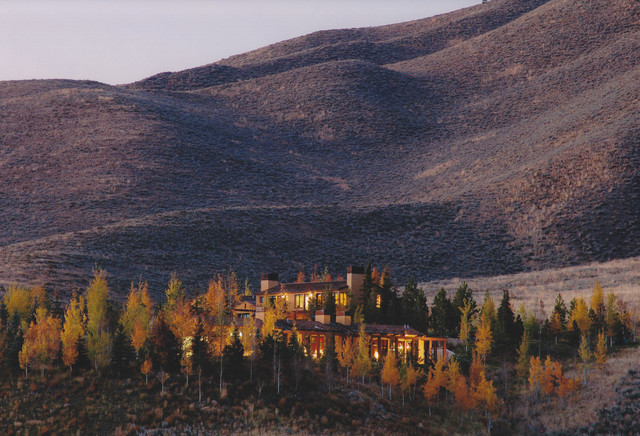 Sun Valley Residence traditional-landscape