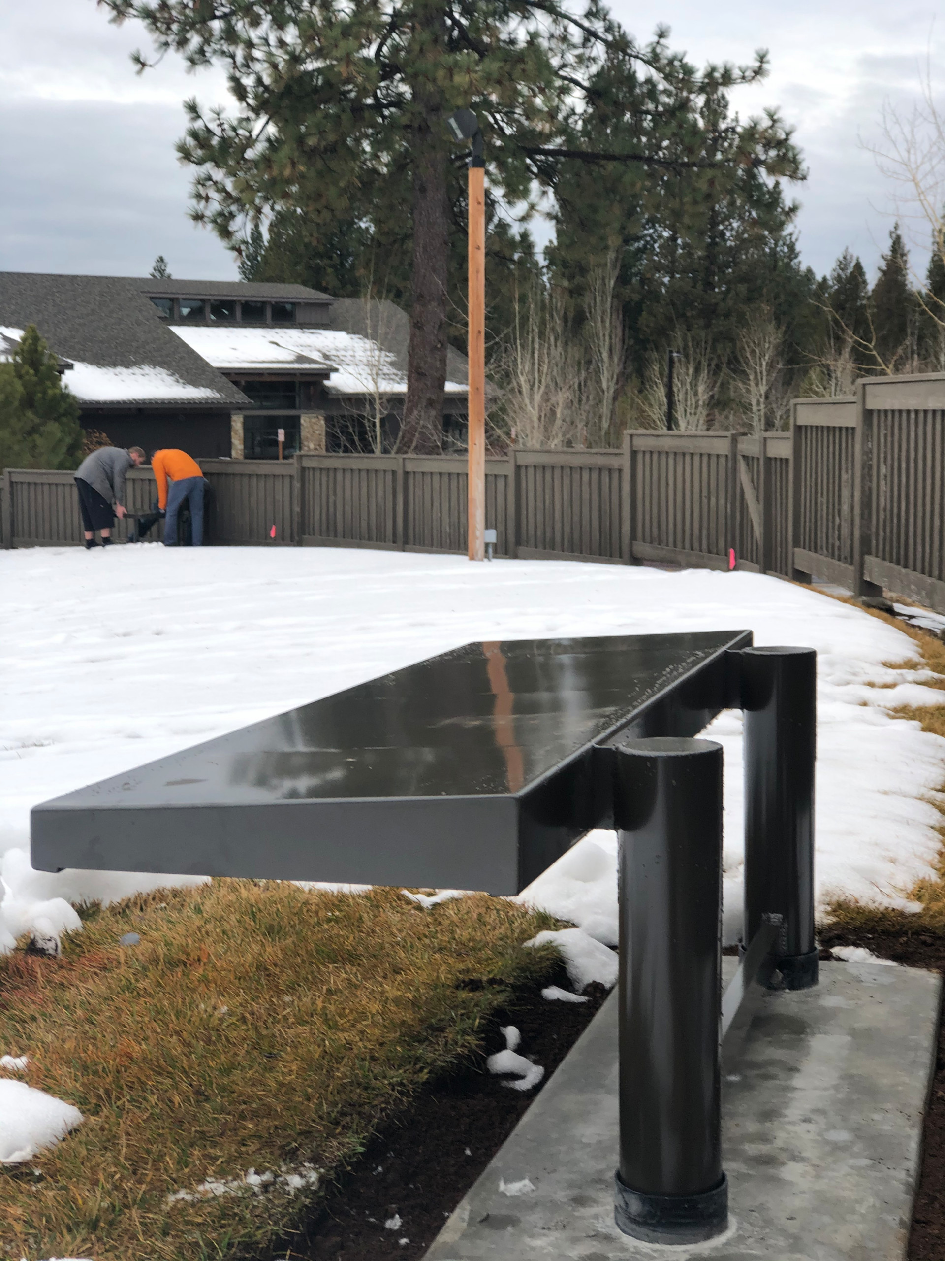 Sunriver Amphitheater Benches - Product design