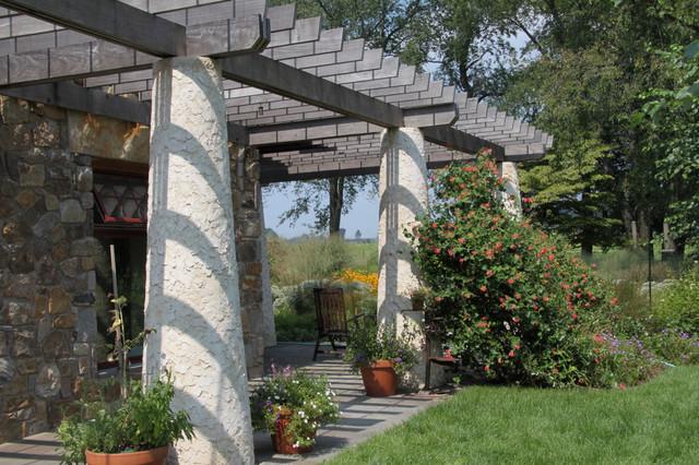 Sustainable house rustic landscape philadelphia by for Jonathan alderson landscape architects