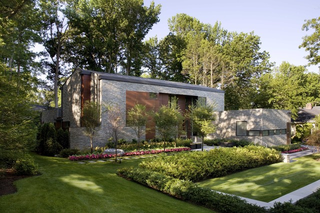 Sustainable Long Island Residence contemporary-landscape