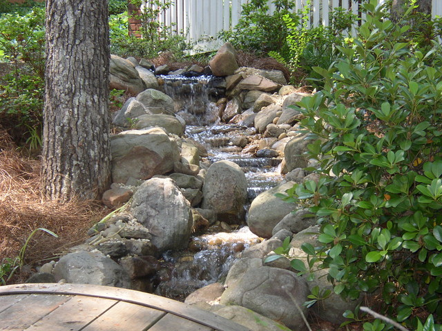 Swimming Pools, Waterfalls and Water Features landscape