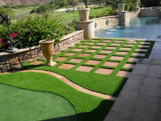 Synthetic Grass GridsPaversStepping Stones