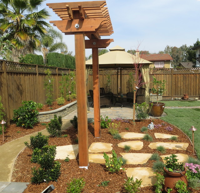 Landscaping Garden Arbors : T arbors and trellis traditional landscape other metro by jpm