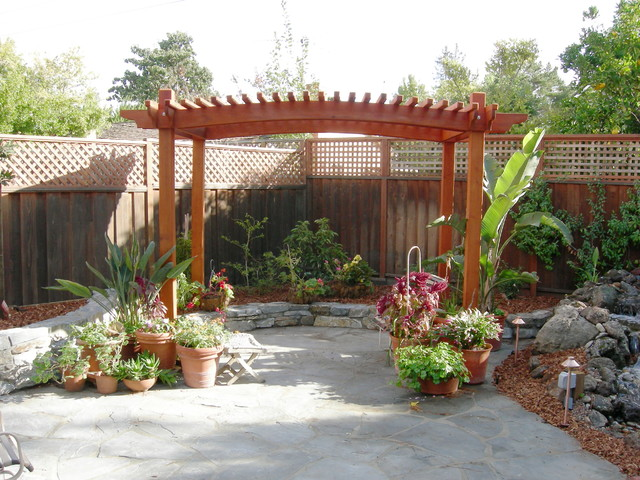 Landscaping Garden Arbors : T arbors and trellis traditional landscape other by jpm