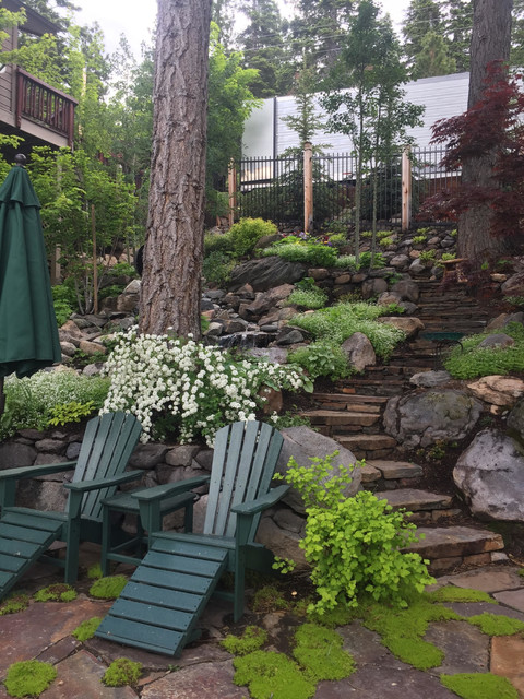 Tahoe Mountain Living - Traditional - Garden - Other - by ...