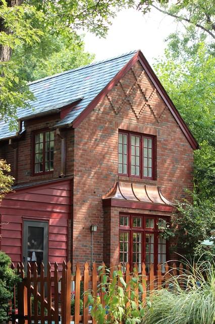 Brick Home Restoration : Teasdale slate roof restoration st louis traditional