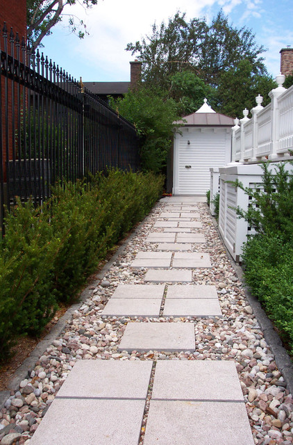 Tenafly Pool Project traditional-landscape