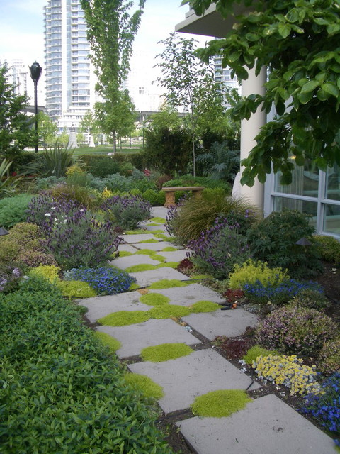 Terrace seaside contemporary landscape vancouver for Garden design vancouver