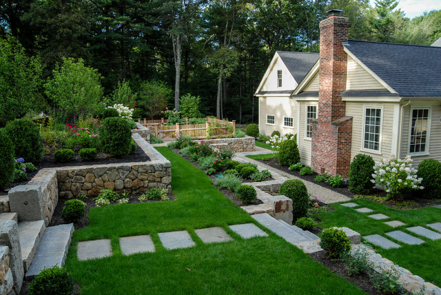 Wonderful Terraced Dover Haven Traditional Landscape