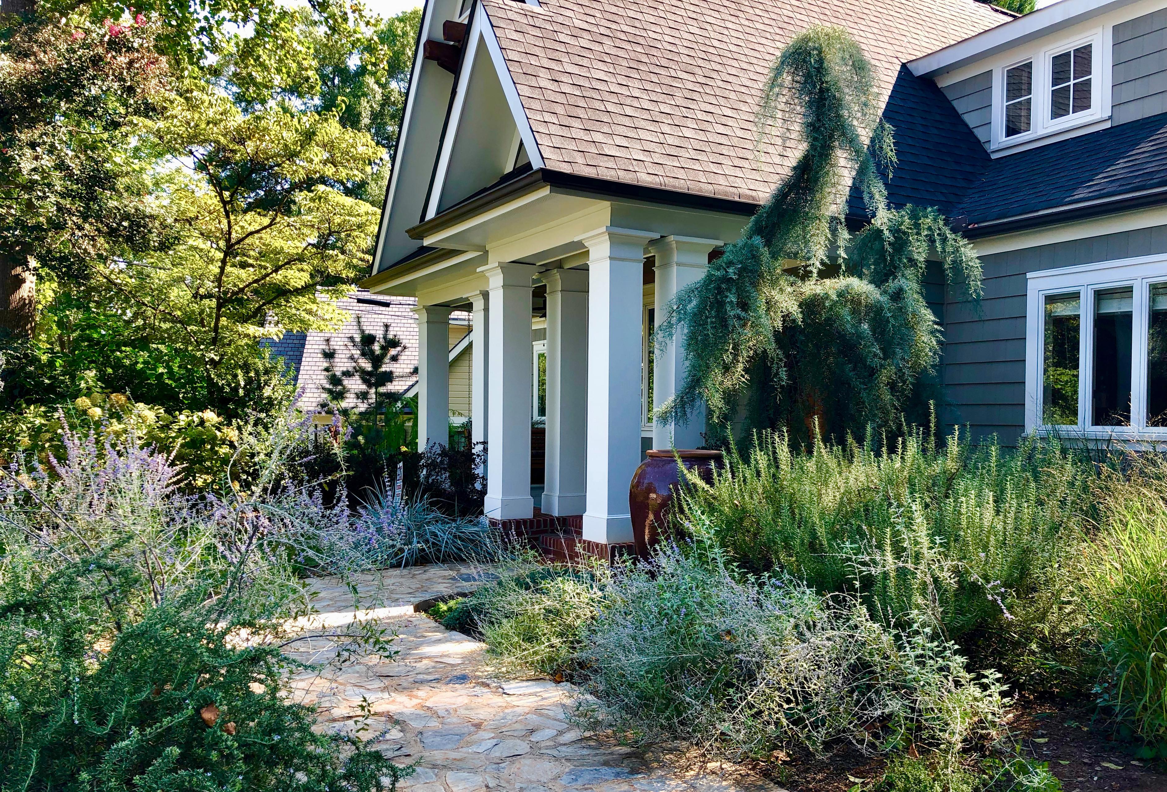 Textural Cottage Garden