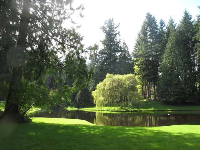 The Bloedel Reserve traditional landscape