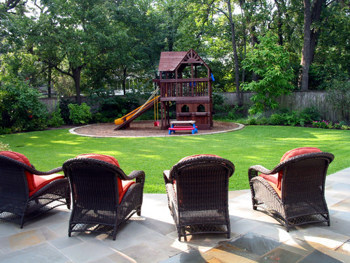 15 ultra kid friendly backyard ideas install it direct for Child friendly garden designs
